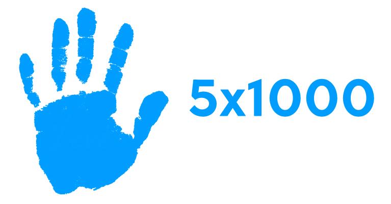 Donare per vivere meglio tutti: ecco il 5x